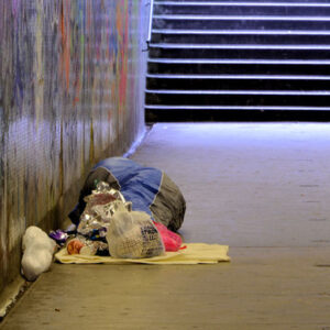 Daydreamer Project Homeless Subway